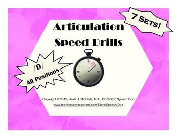 /D/ Artic Speed Drill SET