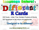 """Different"" R Cards - Set of 200"