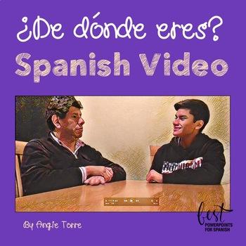¿De dónde eres? Spanish Video