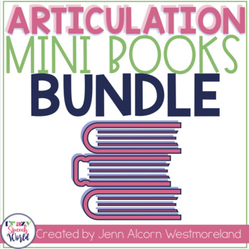 Articulation Homework Readers Bundle