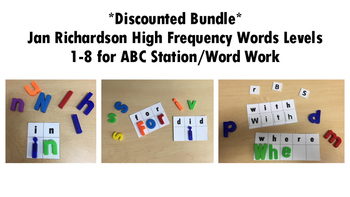 *Discounted Bundle* Jan Richardson High Frequency Words Ce