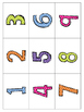 *Print and Play* Math Builders - Memory Games - Number Rec