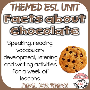 HISTORY OF CHOCOLATE (ESL): Listening and Writing Practice