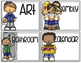 {Editable} Classroom Schedule Cards