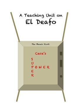 """""""El Deafo"""" Teaching Unit: Activities, Q & A, Vocabulary, W"""