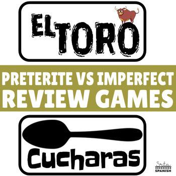¡El Toro! Review Game for Preterite vs. Imperfect