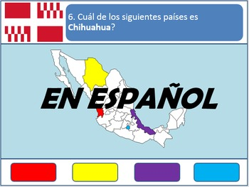 [Español] Powerpoint Game: Mexican Geography
