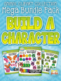 {FLASH DEAL} Animal Build-A-Character Clipart Mega Bundle