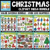 {FLASH DEAL} Christmas Graphics Goodie Bag Mega Bundle — O