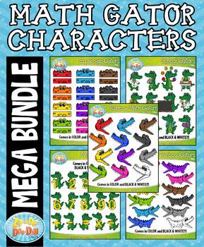 {FLASH DEAL} Math Gator Characters Mega Bundle — Over 90 G