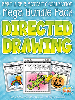 {FLASH DEAL} Learn To Draw / Directed Drawing Mega Bundle