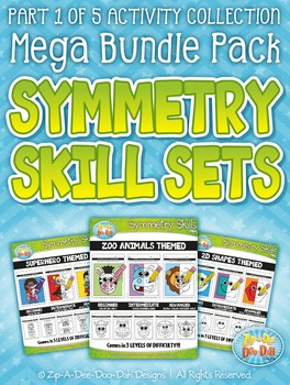 Symmetry Skill Activity Sets Mega Bundle Pack Part 1 — Inc