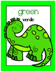 {FREE} Bilingual Dinosaur Color Posters