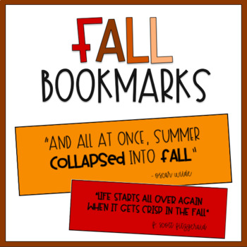 {FREE} Bookmarks