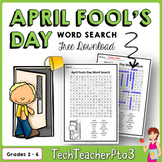 ** FREE DOWNLOAD ** April Fools Day Word Search