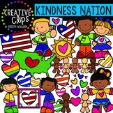 {FREE} Kindness Nation #kindnessnation Clipart {Creative C