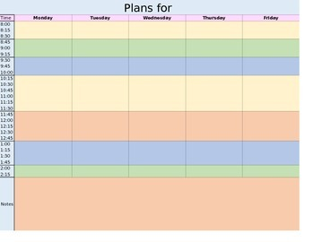 *FREE* Lesson Planner