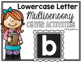 *FREE* Lower Case Letter b Alphabet Center Activities