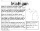{FREE SAMPLE} 50 States Comprehension Passages {Print & Go}