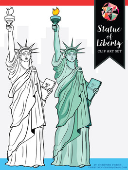 *FREE* Statue of Liberty Clip Art - Western Expansion Coll