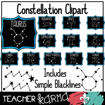 Constellation  / Star Clipart