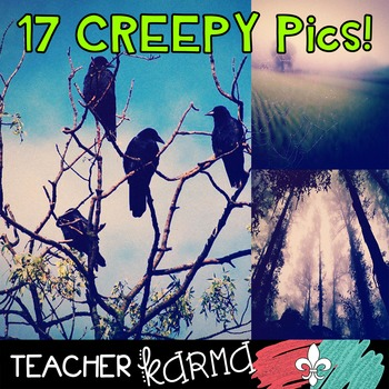 Creepy Pics / Backgrounds / Papers * Perfect for Halloween & Fall