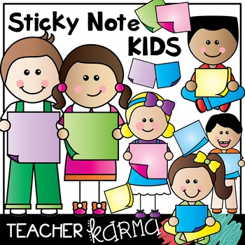Sticky Note Kids