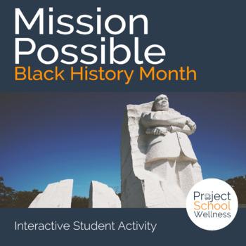Black History Month Activity (Middle School PE, Social Stu