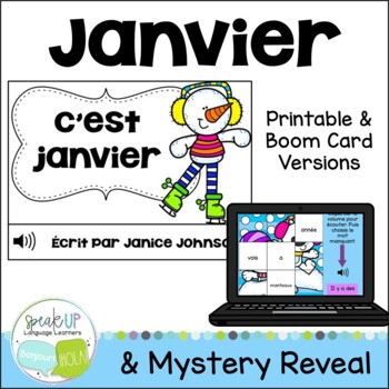 **FREEBIE* C'est janvier ~ French January Student readers