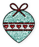 (FREEBIE) Christmas Ornaments * Bright & Shiny Style!