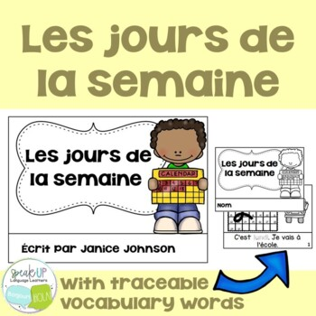 *FREEBIE* ~ French Days of the Week Readers {Les jours de