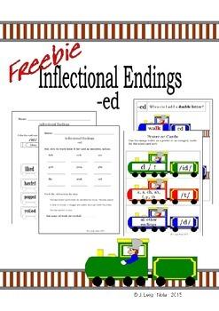 *FREEBIE* Inflectional Endings Packet - ED