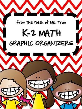 **FREEBIE** K-2 Math Graphic Organizers TEACHER APPRECIATION DAY!