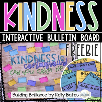 {FREEBIE} Kindness is Contagious Bulletin Board