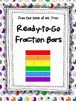 **FREEBIE** Ready-to-Go Fraction Bars MAKE FRACTION LEARNI