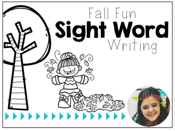 {Fall Fun!} Sight Word Sentences & Writing Prompts