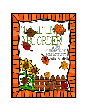 """Fall"" Into ABC Order"