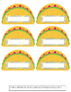 *Fiesta* Theme Bulletin Board/Door Decoration ^Taco 'Bout