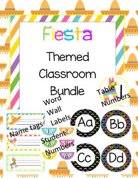 *Fiesta* Themed Classroom Decor Bundle
