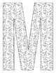 Alphabet Coloring Pages for the Letter M ~  Beginning Soun