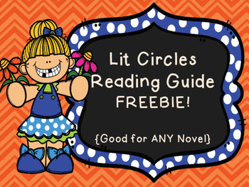 {Free!} Lit Circles Think Guide - Good for ANY Novel