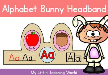 {Freebie} Alphabet Bunny Headband