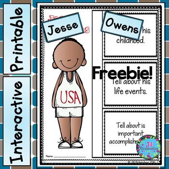 (Freebie) Jesse Owens Writing!