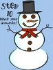 {Frosty Relay} Build-A-Snowman Review Game