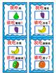 Mandarin Chinese cards game 我吃...谁吃?Fruit game cards