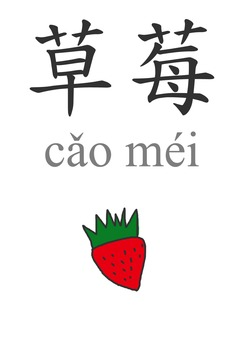 水果 Fruits in Mandarin