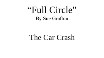"""Full Circle"" by Sue Grafton"
