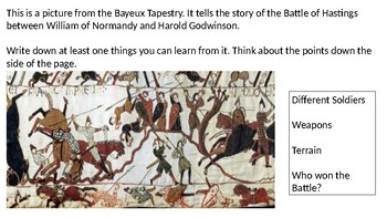 * Full Lesson* Battle of Hastings: What happened at the Ba