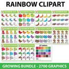 #betterthanchocolate {GROWING BUNDLE} 2700 Graphics Rainbow Set - (100 Sets)