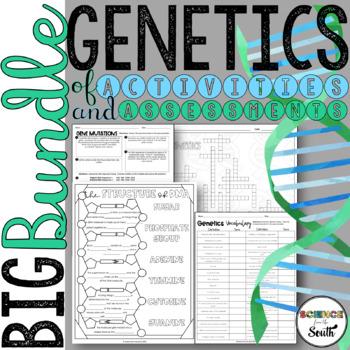 ***GROWING*** Genetics BIG Bundle of Activities and Assessments